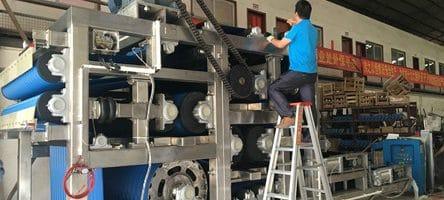Stainless Steel Belt Press