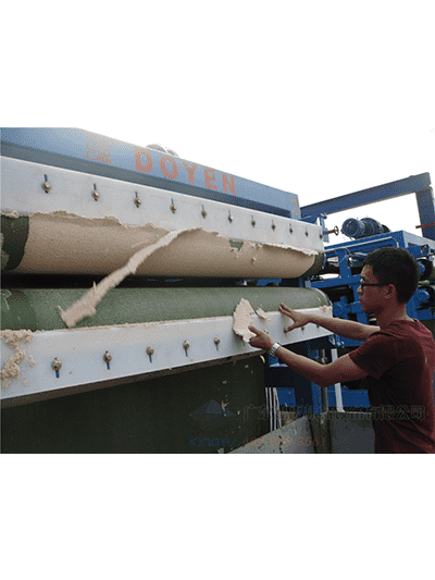 design and manufacture of environmentally friendly belt filter press.