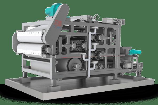 Dewatering belt press ky2000