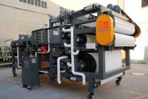 belt filter press kn2000