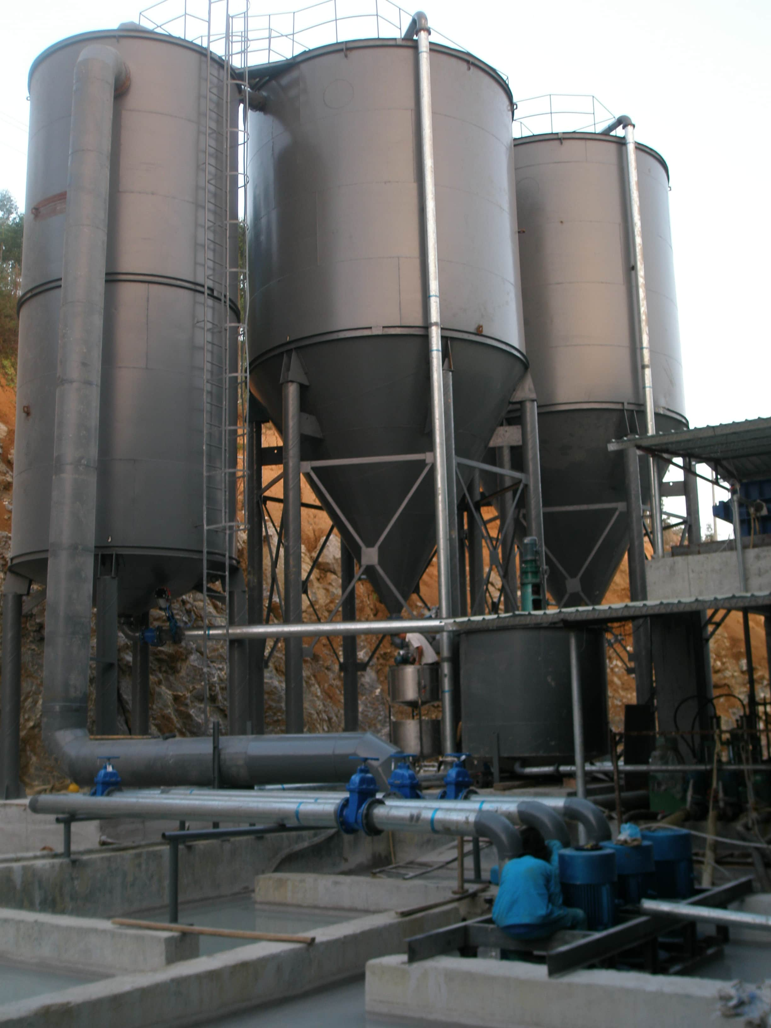 10000 L/M Wastewater Treatment System for a Marble Plant