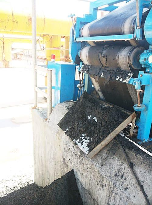 COAL GAS GENERATOR COAL POWDER RECYCLING